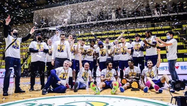 «Будивельнык» выиграл Кубок Украины по баскетболу