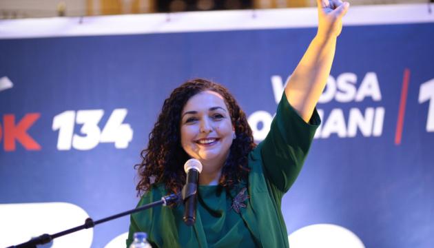 Президенткою Косова стала Вйоса Османі