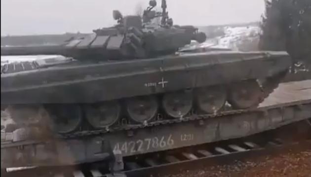 露シベリアからウクライナとの国境隣接地域へ部隊移動=調査グループ