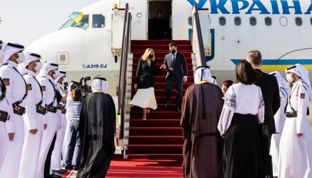 Україна розглядає Катар як одного з ключових партнерів в Арабському світі – Зеленський