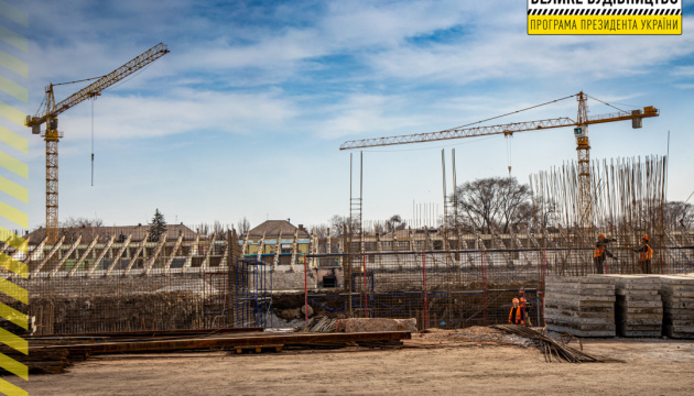 В Кривом Роге стартовала реконструкция стадиона «Металлург»