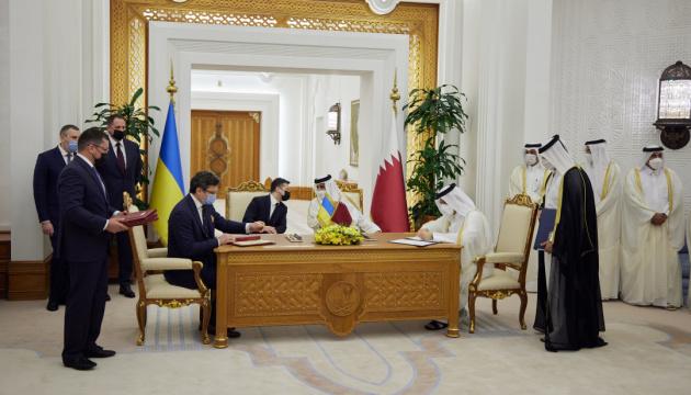 Україна і Катар підписали 15 документів - Зеленський