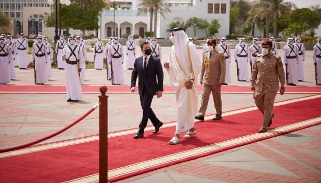 ゼレンシキー大統領、カタール訪問を総括