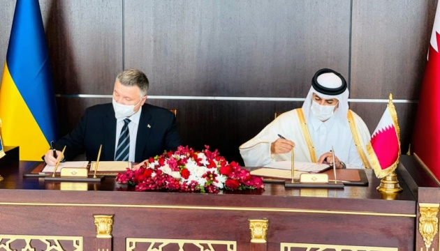 Avakov signs memorandum of cooperation on fight against crime in Qatar