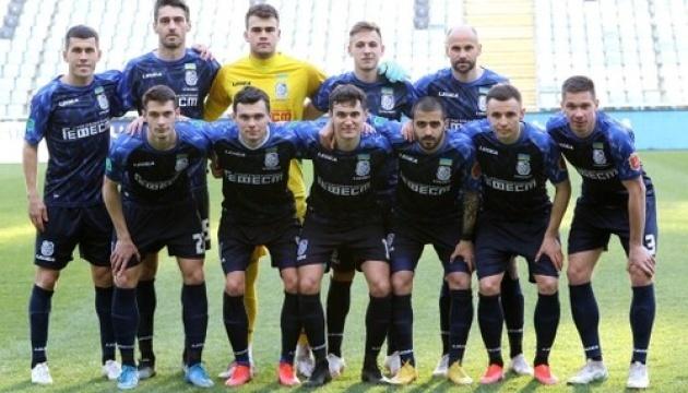 Перша ліга: «Чорноморець» обіграв «Прикарпаття» у матчі 20 туру