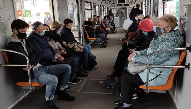 Coronavirus : 1 503 cas supplémentaires détectés à Kyiv
