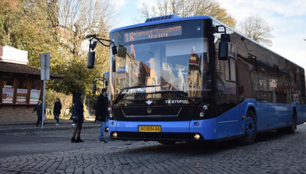 В Ужгороді поновив роботу громадський транспорт