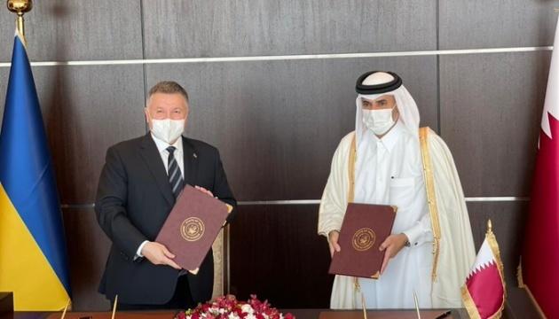 Аваков заявляє про великий потенціал розвитку співпраці з Катаром