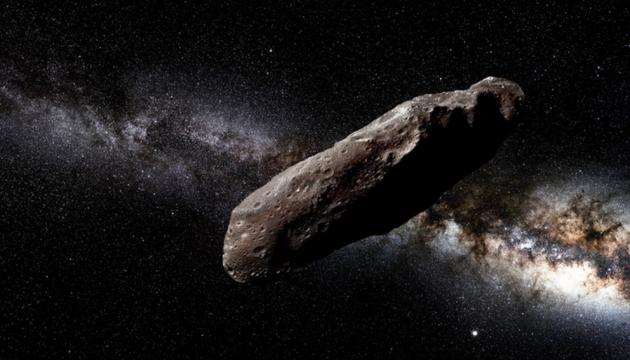 """Прибулець із далекого космосу """"Oumuamua"""" (""""Посланець""""). Інфографіка"""
