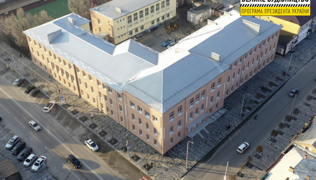 В Днипре модернизируют здание старейшей гимназии