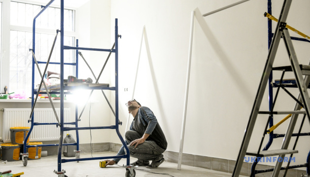 В Бердянске завершается реконструкция приёмного отделения больницы