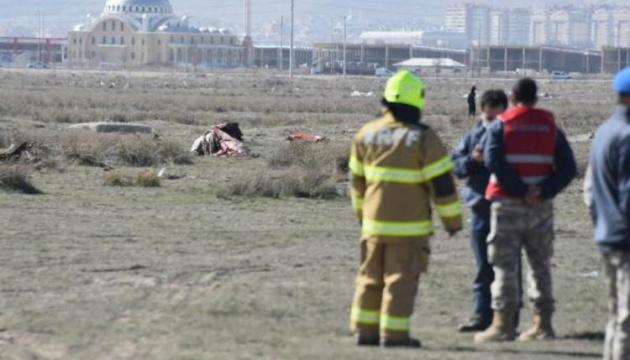 У Туреччині розбився військовий літак