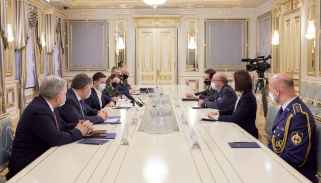 President Zelensky meets with NATO Military Committee Chairman
