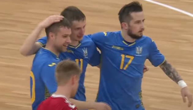Збірна України розгромила данців у кваліфікації Євро-2022 з футзалу