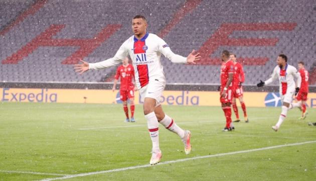 «Баварія» поступилася «Парі Сен-Жермен» в першому матчі 1/4 фіналу Ліги чемпіонів УЄФА