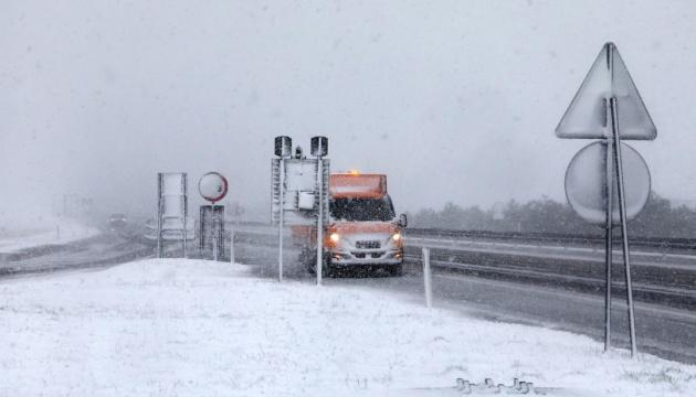 Хорватію накрили потужні снігопади