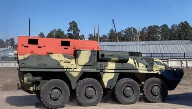 Kyiv AVF launches trials of its new command/staff vehicle it developed for Thailand