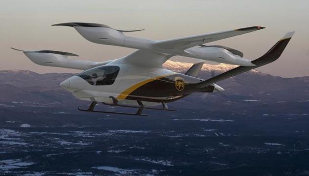 Логистический гигант UPS покупает самолеты с вертикальным взлетом и посадкой