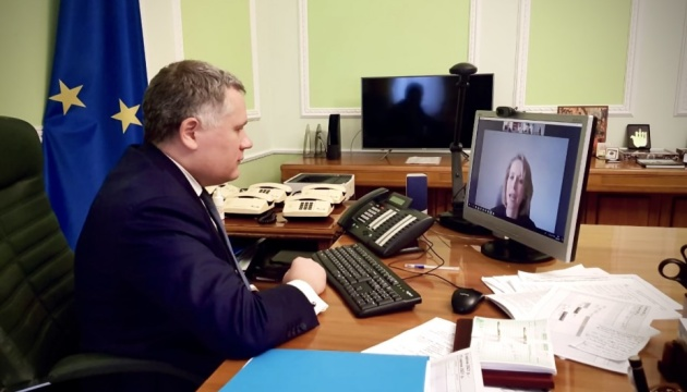 Жовква обговорив із радницею президента Латвії ситуацію на сході України
