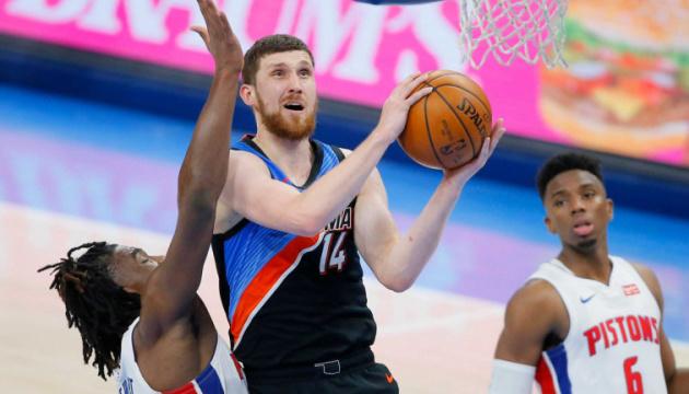 Михайлюк – п'ятий українець в НБА, який набрав 1000 очок