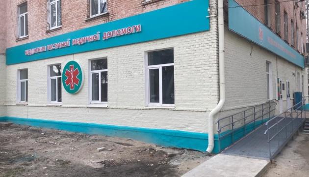 У шести лікарнях на Чернігівщині завершили капремонт приймальних відділень