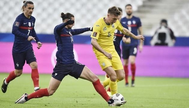 Футбол: Украина - в ТОП-5 команд евроотбора ЧМ-2022 по точности пасов