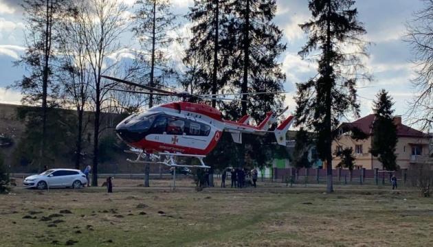 В Україні виконали першу цивільну аеромедичну евакуацію
