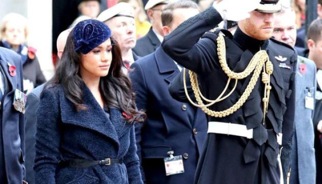 Принц Гаррі та Меган Маркл вшанували пам'ять принца Філіпа