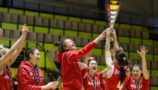 Баскетболістки «Прометея» - чемпіонки  Суперліги сезону-2020/2021