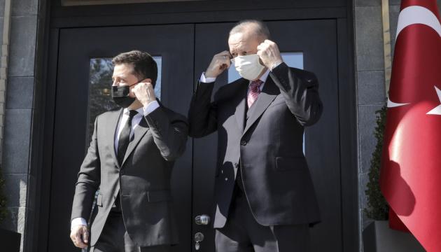 Стамбульский визит: Зеленский и Эрдоган «сверили часы» по безопасности
