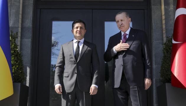 Зеленський і Ердоган на зустрічі тет-а-тет обговорюють ситуацію на сході України - ОП