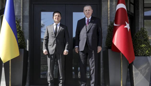 Зеленський подякував Ердогану за готовність долучитися до «Кримської платформи»