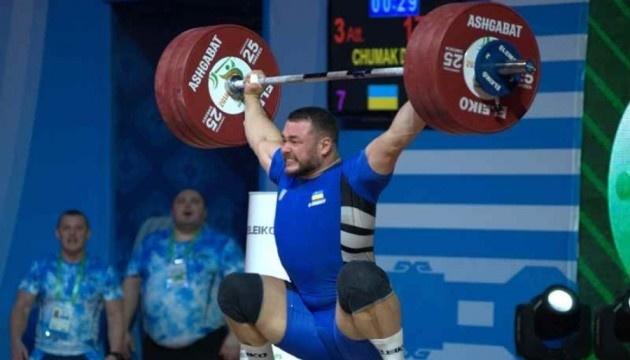 Україна - перша у медальному заліку ЧЄ з важкої атлетики
