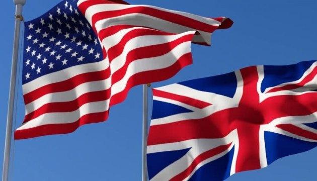 США та Британія заявили про спільну протидію агресії РФ проти України