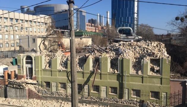 Ткаченко вимагає розслідувати, хто дав «дозвіл» на знищення будинку Уткіна