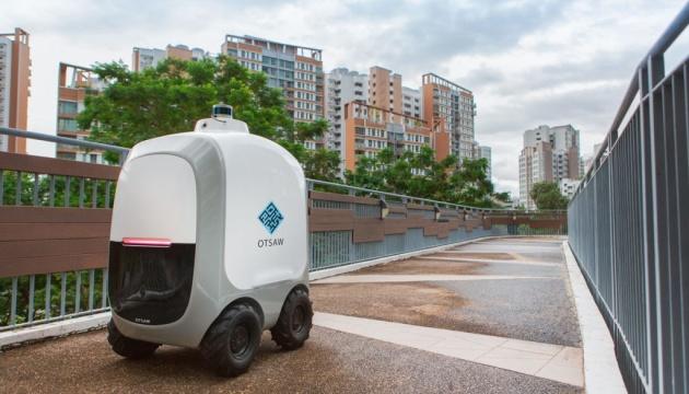 Доставка еды в локдаун: в Сингапуре разработали роботов-курьеров