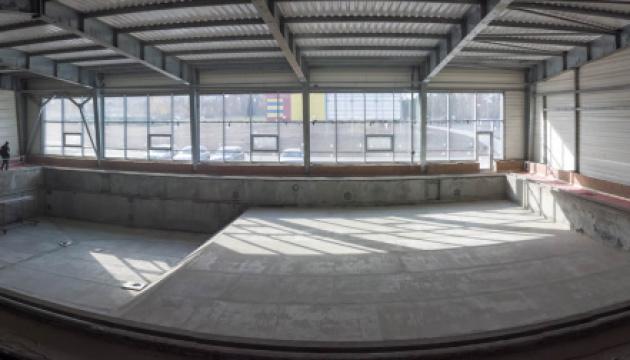 На Донеччині будують оздоровчий комплекс із басейнами