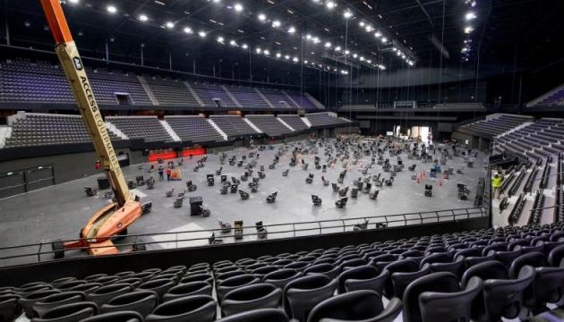 І вдень і вночі: у Нідерландах монтують сцену до Євробачення-2021