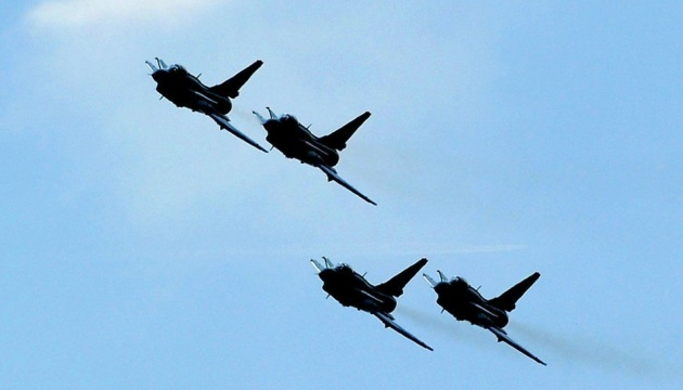 Тайвань заявил о крупнейшем за год вторжении китайских военных самолетов