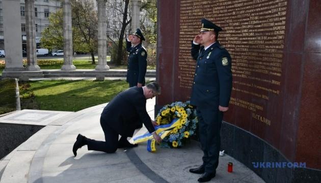 Украинские дипломаты почтили память погибших при освобождении Австрии от нацистов