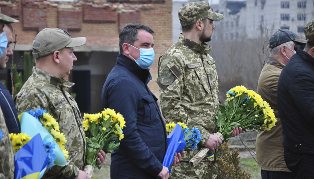 У Слов'янську вшанували пам'ять Героїв, які загинули під час звільнення міста у 2014 році