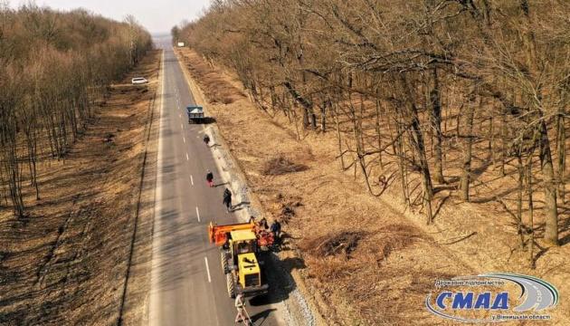 На Вінниччині відремонтували 12 км автодороги місцевого значення