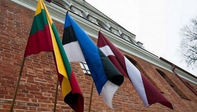 Глави МЗС Естонії, Латвії та Литви разом приїдуть до України