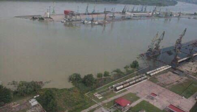 Державі передали майновий комплекс для зрідженого газу у порту Рені