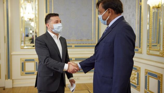Zelensky se reúne con el presidente de la Junta Directiva de ArcelorMittal