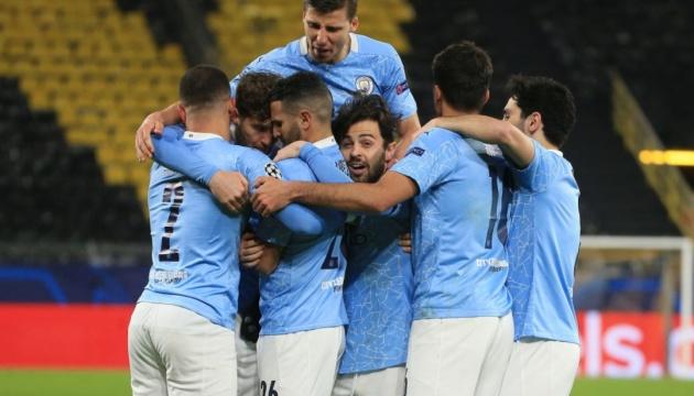 «Манчестер Сити» вышел в 1/2 финала Лиги чемпионов УЕФА, дважды обыграв «Боруссию»