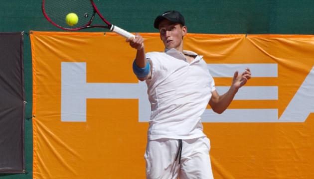 20-летний украинец Кравченко обыграл опытного француза на турнире ITF