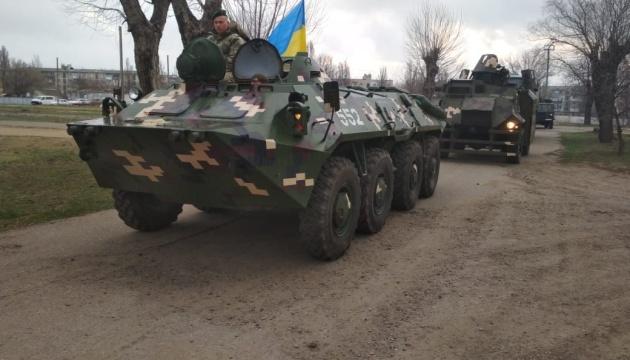 Пограничники тренируются прикрывать морское побережье возле Молдовы