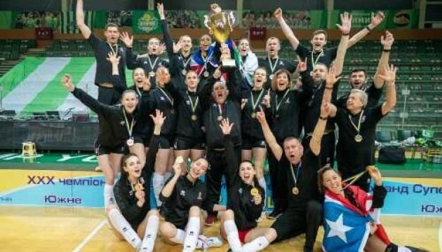 СК «Прометей» виграв жіночий чемпіонат Україну-2020/21 з волейболу