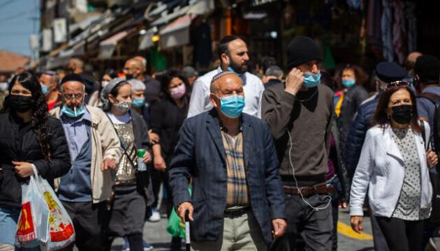 Ізраїль скасував обов'язкове носіння масок на вулиці